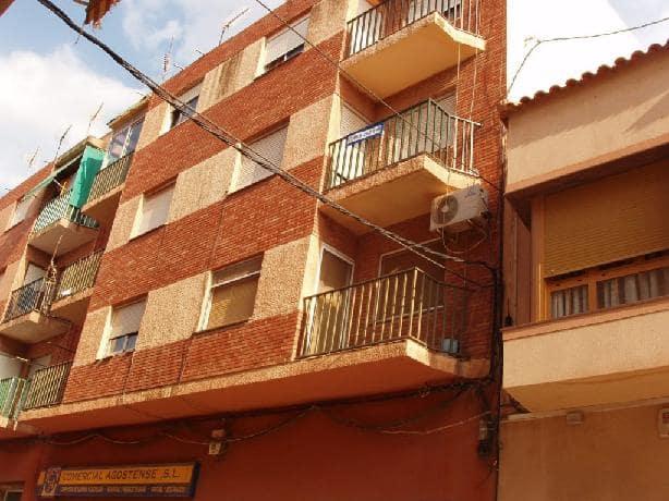 Piso en venta en Agost, Alicante, Avenida Novelda, 51.975 €, 3 habitaciones, 1 baño, 107 m2