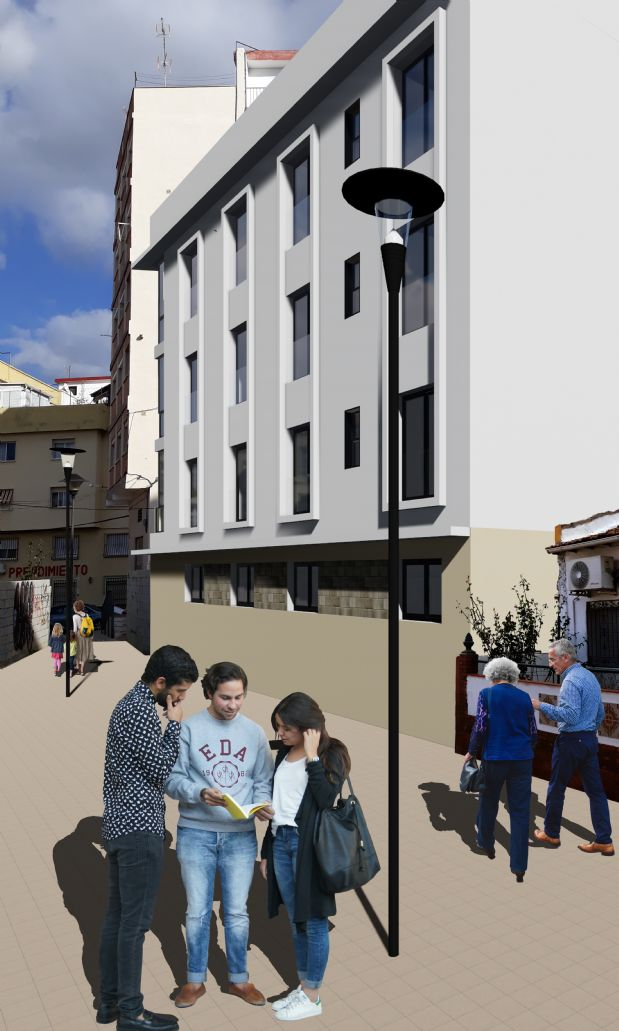 Piso en venta en Málaga, Málaga, Calle Eclesiastés, 160.000 €, 2 habitaciones, 1 baño, 70,52 m2