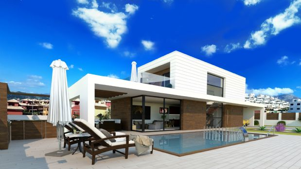 Casa en venta en La Cala de Finestrat, Finestrat, Alicante, Avenida Madrid, 499.000 €, 5 habitaciones, 4 baños, 200 m2