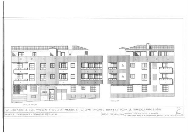 Piso en venta en Torre del Campo, Jaén, Calle Juan Pancorbo, 100.000 €, 2 habitaciones, 2 baños, 90,54 m2