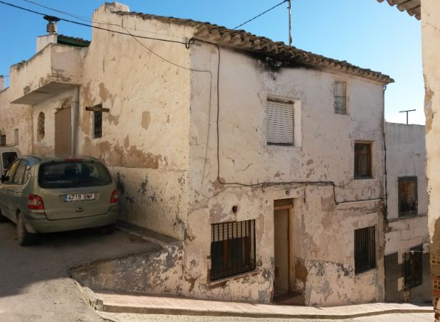 Casa en venta en La Estación, Sax, Alicante, Calle Carrera, 54.200 €, 3 habitaciones, 1 baño, 76 m2