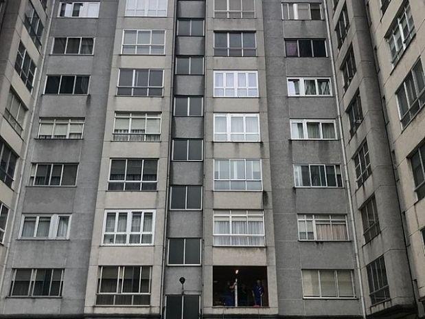 Piso en venta en Ferrol, A Coruña, Calle Juan de Austria, 37.800 €, 3 habitaciones, 1 baño, 89 m2