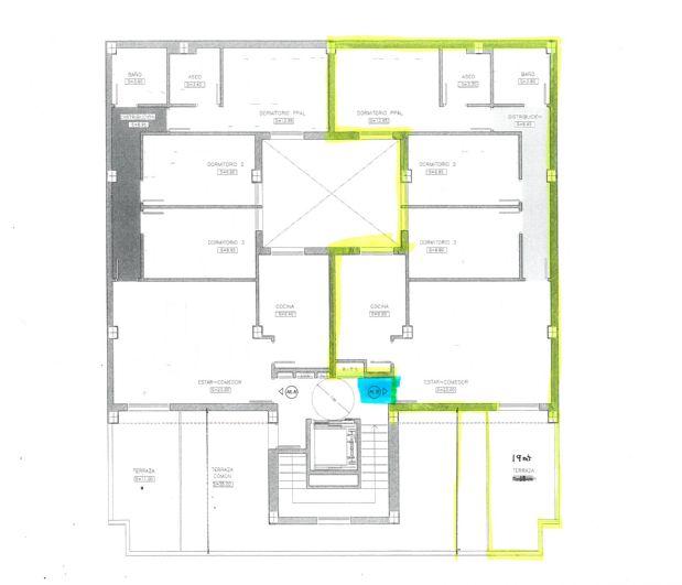 Piso en venta en Torre del Campo, Jaén, Paseo de la Almassera, 140.000 €, 3 habitaciones, 2 baños, 92,4 m2