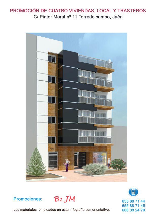 Piso en venta en Torre del Campo, Jaén, Calle Pintor Manuel Moral, 145.000 €, 3 habitaciones, 2 baños, 99,45 m2
