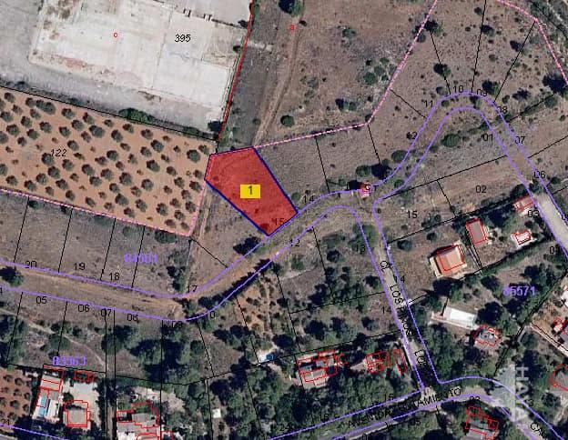 Suelo en venta en Macastre, Macastre, Valencia, Urbanización Llanorel, 6.000 €, 1060 m2