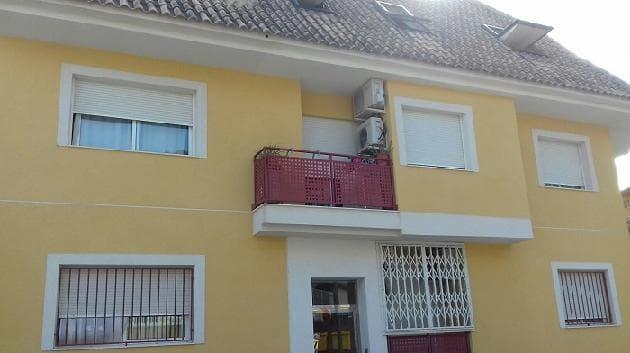 Piso en venta en Archena, Murcia, Calle Londres, 58.000 €, 2 habitaciones, 1 baño, 999 m2