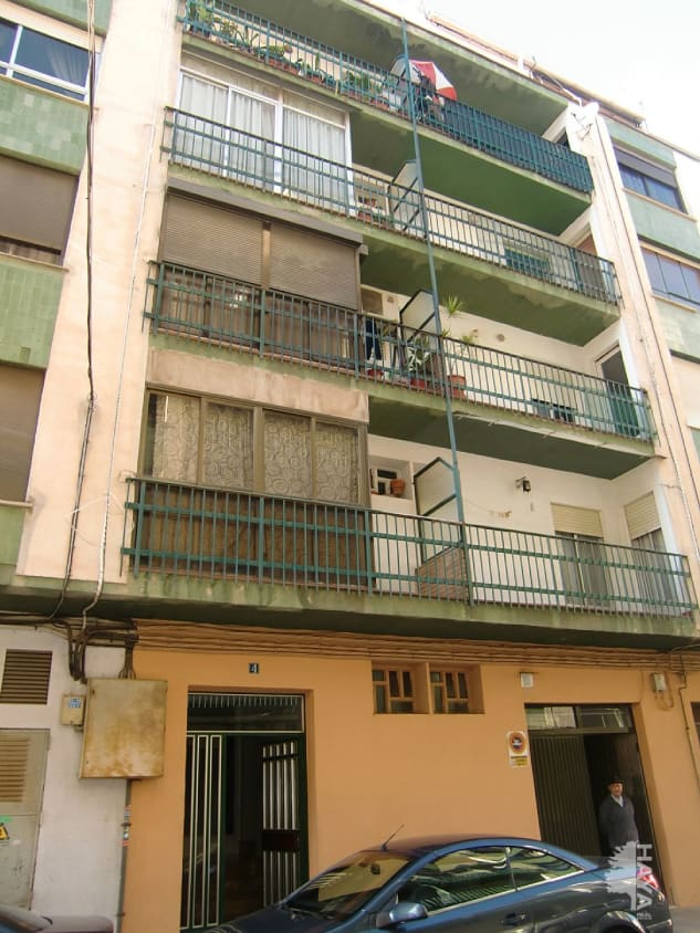 Piso en venta en Poblados Marítimos, Burriana, Castellón, Calle Torres Quevedo, 50.000 €, 3 habitaciones, 1 baño, 93 m2
