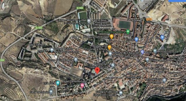 Suelo en venta en Andorra, Teruel, Paraje Veldemolinos, 50.000 €, 1379 m2
