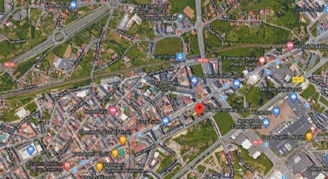 Local en venta en Esquibien, Ferrol, A Coruña, Calle Venezuela, 61.000 €, 104 m2
