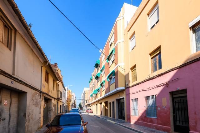 Piso en venta en Grupo 1º de Mayo, Nules, Castellón, Calle San Vicente, 37.000 €, 3 habitaciones, 1 baño, 89 m2