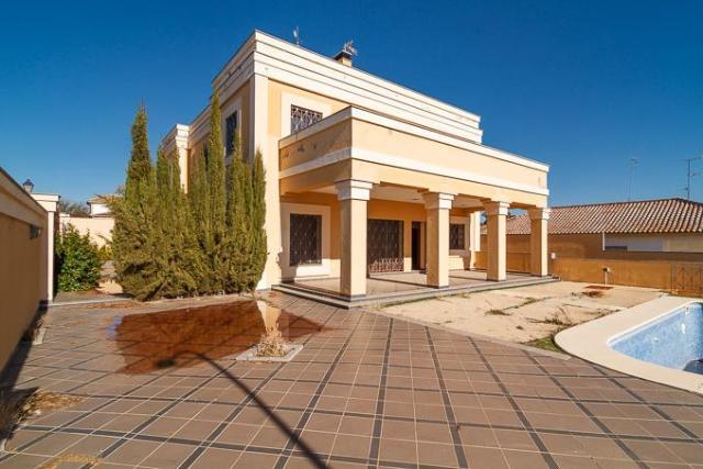 Casa en venta en Sanlúcar la Mayor, Sanlúcar la Mayor, Sevilla, Calle Zurbaran, 449.000 €, 4 habitaciones, 4 baños, 398 m2