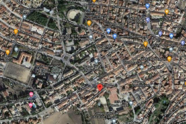 Suelo en venta en Andorra, Teruel, Paraje Valdemolinos, 33.000 €, 836 m2