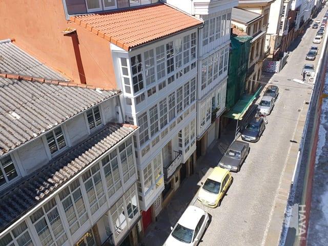 Piso en venta en A Magdalena, Ferrol, A Coruña, Calle Maria, 52.030 €, 2 habitaciones, 1 baño, 100 m2