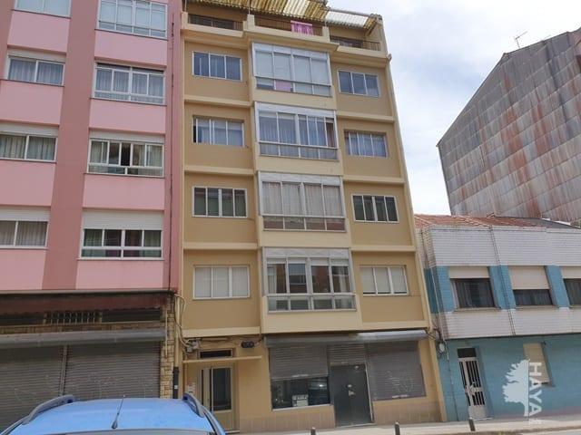 Piso en venta en San Xoán, Ferrol, A Coruña, Avenida Mestre Garcia Niebla, 61.950 €, 3 habitaciones, 1 baño, 101 m2