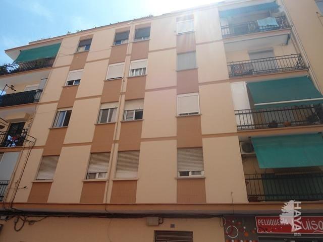 Piso en venta en Burjassot, Valencia, Calle Victoria Kent, 56.805 €, 3 habitaciones, 1 baño, 77 m2