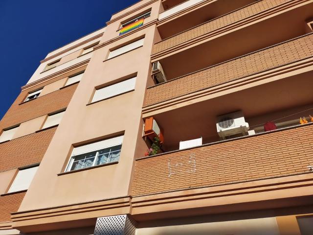 Piso en venta en Urbanización Roquetas de Mar, Roquetas de Mar, Almería, Plaza Archivo de Indias, 71.000 €, 2 habitaciones, 1 baño, 77 m2
