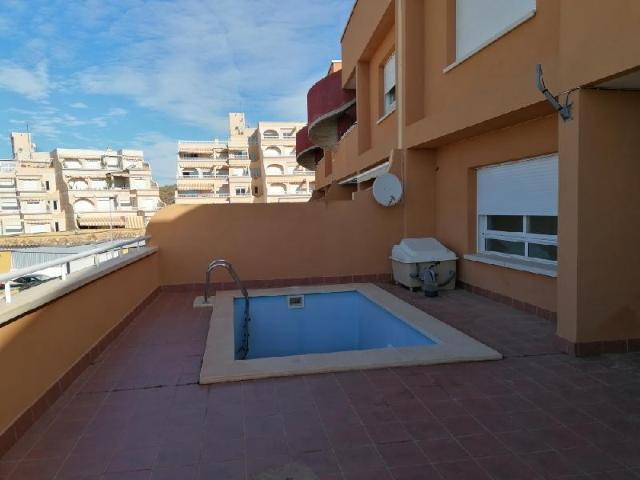 Piso en venta en El Hornillo, Águilas, Murcia, Calle Vazquez Montalban, 198.800 €, 2 habitaciones, 2 baños, 111 m2