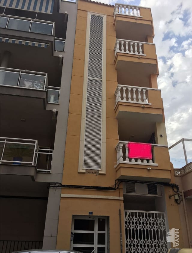 Piso en venta en El Grao, Moncofa, Castellón, Calle Almirall Cervera, 55.000 €, 1 habitación, 1 baño, 76 m2
