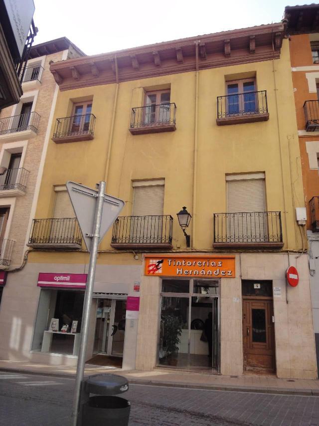 Piso en venta en Barrio de Santo Domingo Y San Martín, Huesca, Huesca, Calle Lanuza 4, 105.200 €, 1 habitación, 1 baño, 107 m2