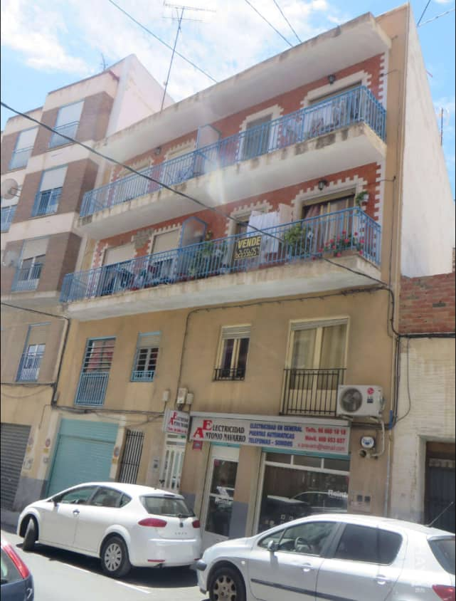 Piso en venta en El Realengo, Crevillent, Alicante, Calle Pio Xii, 29.000 €, 1 baño, 106 m2