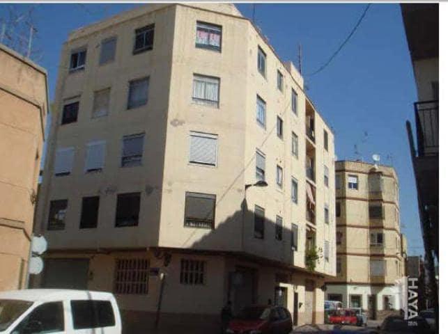 Piso en venta en Virgen de Gracia, Vila-real, Castellón, Calle Artana, 18.600 €, 3 habitaciones, 1 baño, 61 m2