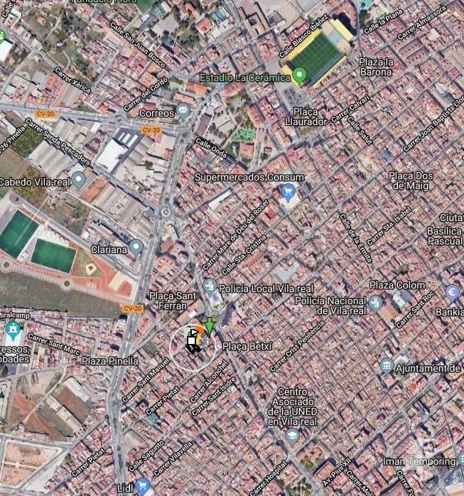 Suelo en venta en Vila-real, Castellón, Calle San Manuel, 266.000 €, 529 m2