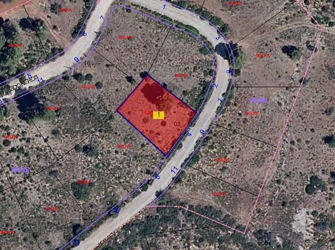 Suelo en venta en Macastre, Macastre, Valencia, Urbanización Llanorel, 14.800 €, 704 m2