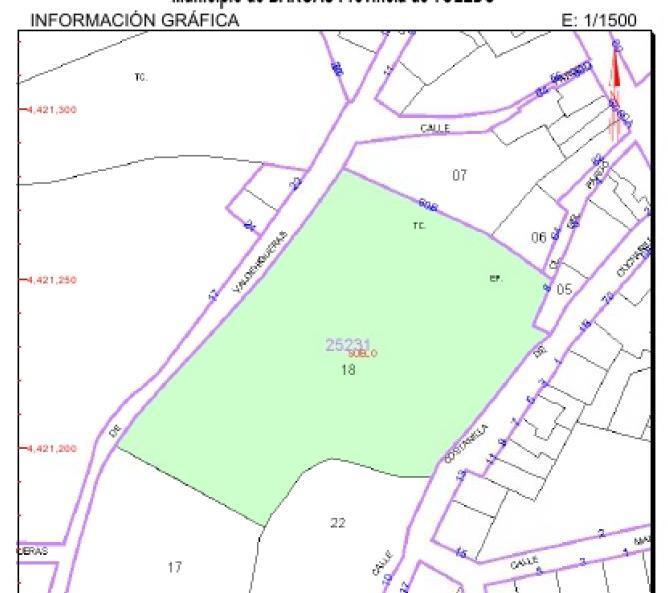Suelo en venta en Bargas, Toledo, Calle Cucharadiñas, 190.300 €, 4969 m2