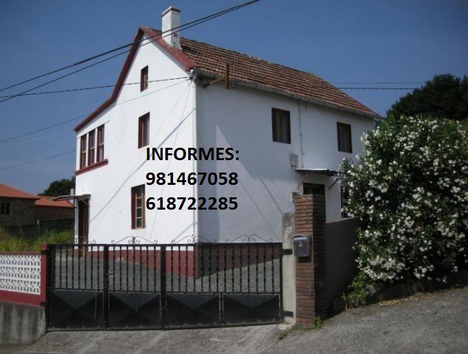 Casa en venta en Narón, A Coruña, Calle Pedroso, 80.000 €, 4 habitaciones, 1 baño, 142 m2