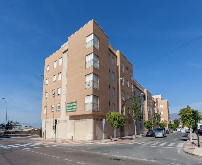 Piso en venta en Cortijos de Marín, Roquetas de Mar, Almería, Avenida de los Cortijos de Marin, 35.000 €, 2 habitaciones, 1 baño, 89 m2
