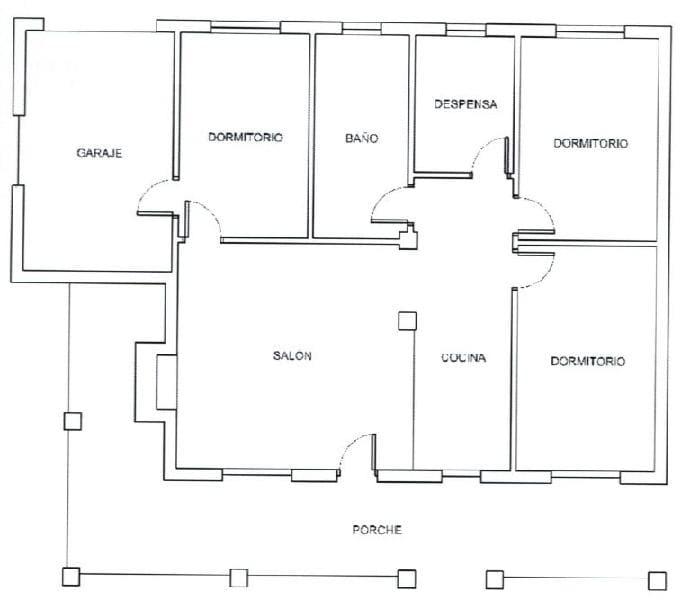Casa en venta en Casa en Mula, Murcia, 115.000 €, 3 habitaciones, 1 baño, 118 m2