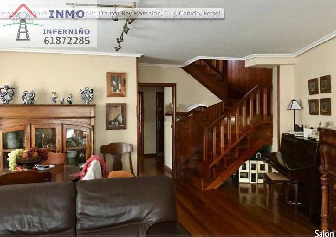 Piso en alquiler en A Magdalena,  (a Coruña), A Coruña, Calle Rey Romalde, 800 €, 4 habitaciones, 3 baños, 180 m2