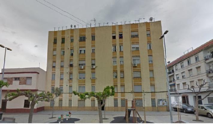 Piso en venta en Grupo Pío Xii, Almazora/almassora, Castellón, Calle Batalla de Bailen, 13.472 €, 3 habitaciones, 1 baño, 75 m2