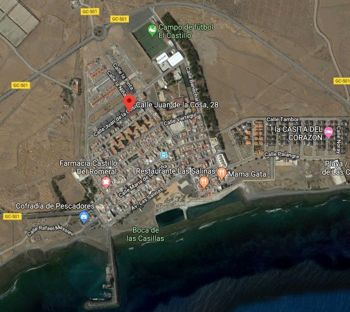 Piso en venta en Bockum, San Bartolomé de Tirajana, Las Palmas, Calle Juan de la Cosa, 50.000 €, 129 m2
