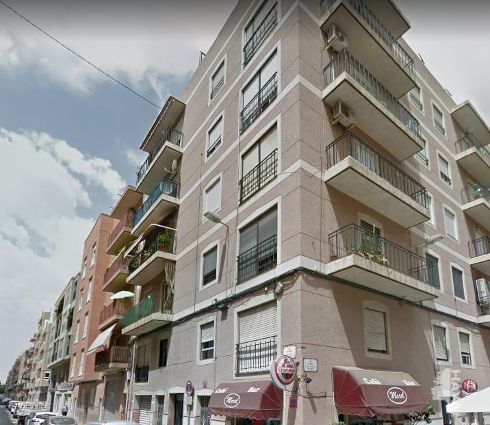 Piso en venta en Elche/elx, Alicante, Calle Clemente Gonzalez Valls, 81.846 €, 4 habitaciones, 2 baños, 113 m2