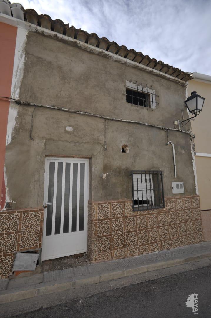 Casa en venta en Tobarra, Albacete, Calle Cristo de la Antigua, 60.500 €, 4 habitaciones, 1 baño, 139 m2