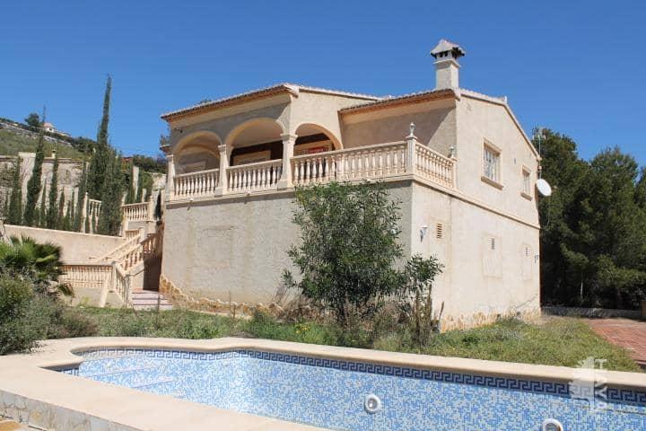 Casa en venta en Cometas, Calpe/calp, Alicante, Calle Partida Empedrola La, 305.900 €, 3 habitaciones, 2 baños, 323 m2