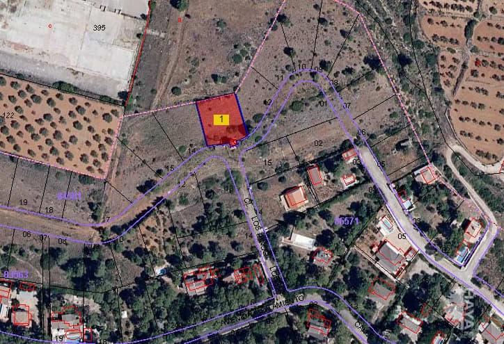 Suelo en venta en Macastre, Macastre, Valencia, Urbanización Llanorel, 4.800 €, 844 m2