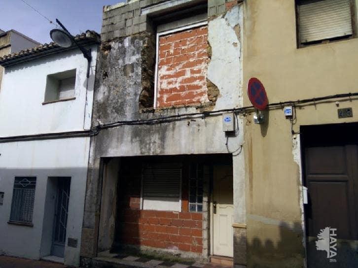 Casa en venta en Ondara, Alicante, Calle Sant Domenech, 48.000 €, 3 habitaciones, 1 baño, 148 m2