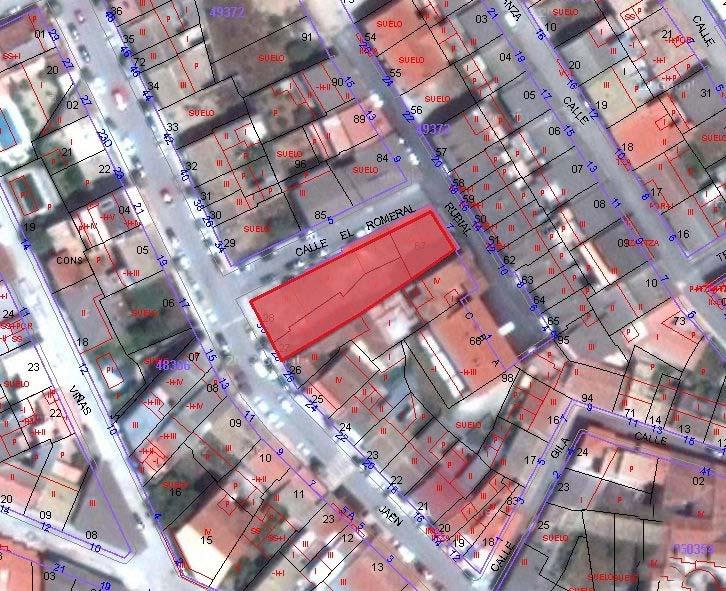 Suelo en venta en Pozo Alcón, Jaén, Calle Jaen, 107.800 €, 687 m2