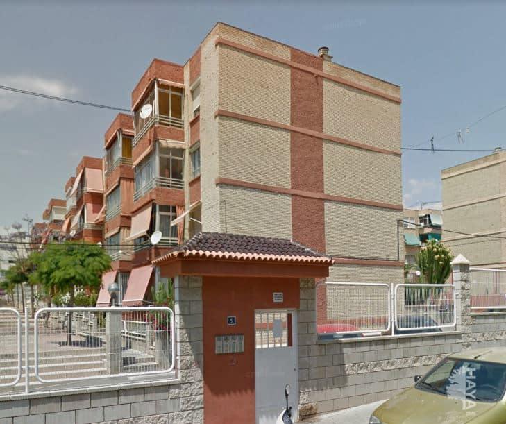 Piso en venta en Alicante/alacant, Alicante, Calle Salvador Allende, 45.225 €, 4 habitaciones, 1 baño