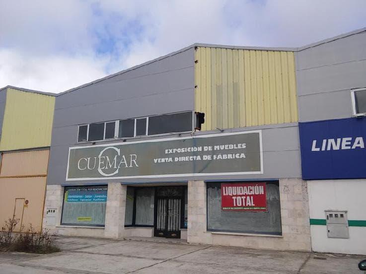 Industrial en venta en Cuéllar, Segovia, Carretera Olmedo, 140.951 €, 855 m2