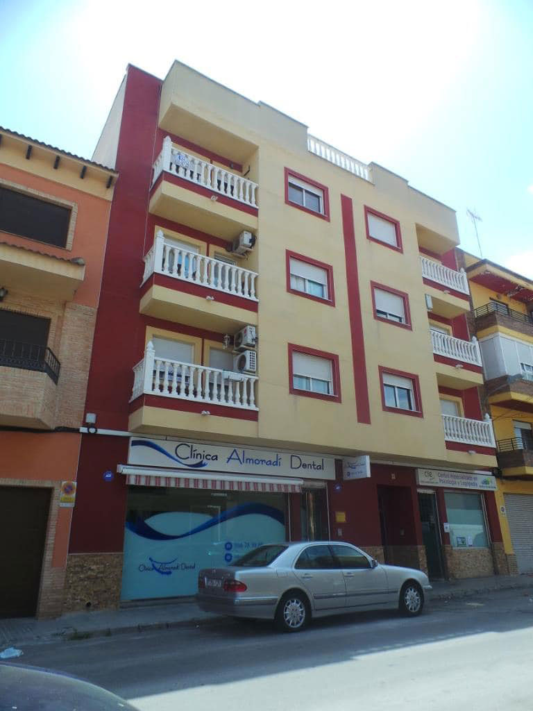 Piso en venta en Centro, Almoradí, Alicante, Calle Ramon Y Cajal, 79.100 €, 3 habitaciones, 1 baño, 102 m2