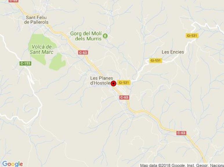 Suelo en venta en Can-klingen, Les Planes D`hostoles, Girona, Avenida Narcis Arnau, 229.000 €, 12035 m2