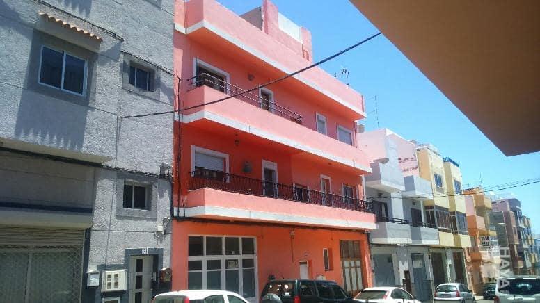 Piso en venta en Las Huesas, Telde, Las Palmas, Calle Garcia Morato, 73.000 €, 2 habitaciones, 1 baño, 92 m2