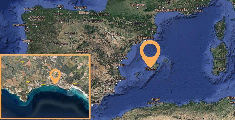 Casa en venta en Campos, Baleares, Calle D`alt de Sa Rapita, 472.000 €, 3 habitaciones, 2 baños, 236,37 m2