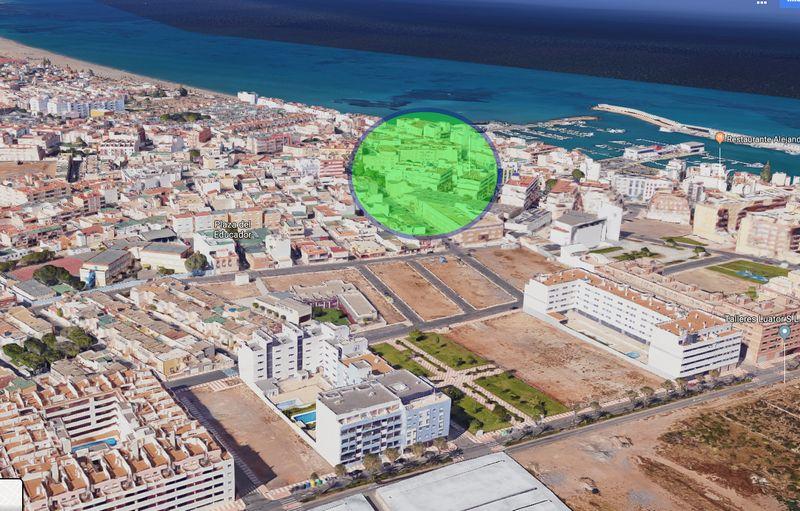 Piso en venta en Los Depósitos, Roquetas de Mar, Almería, Avenida Sabinar, 74.000 €, 1 habitación, 1 baño, 56 m2