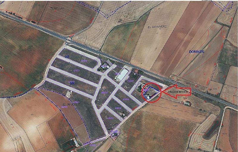 Suelo en venta en El Pegollo, Doñinos de Salamanca, Salamanca, Lugar Sitio de El Pegollo, 49.500 €, 16000 m2