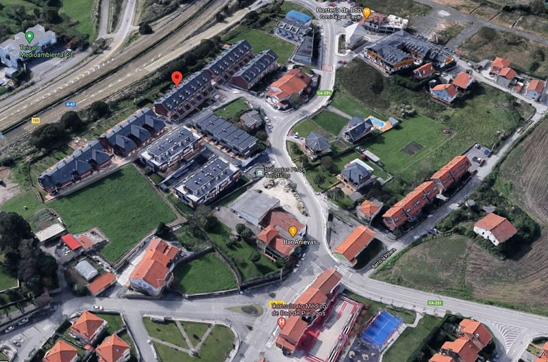 Piso en venta en Boo de Piélagos, Piélagos, Cantabria, Barrio Bo Boo-san Jose, 85.000 €, 1 habitación, 1 baño, 56 m2