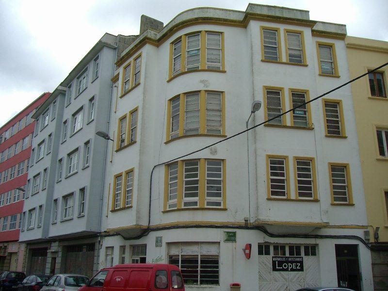 Piso en venta en Centro, Ferrol, A Coruña, Calle Cataluña, 39.000 €, 3 habitaciones, 1 baño, 94 m2
